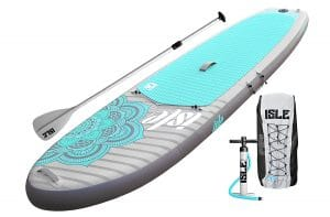 Isle Inflatable Yoga Paddle Board