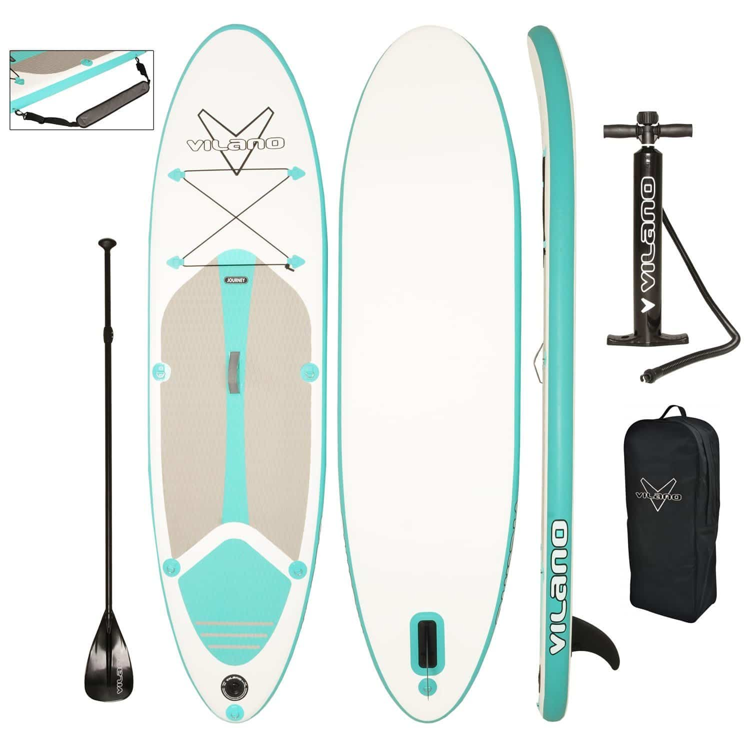 Vilano Journey Inflatable Paddle Board Review